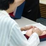 乳房触診体験